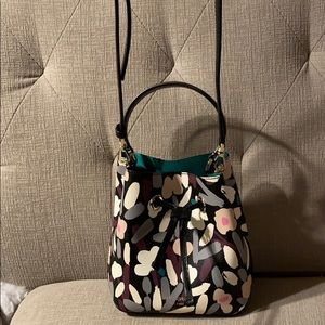 NWT Kate Spade Small Bucket Floral Bag